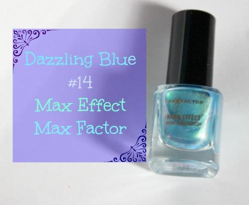 Max Factor dazzling blue