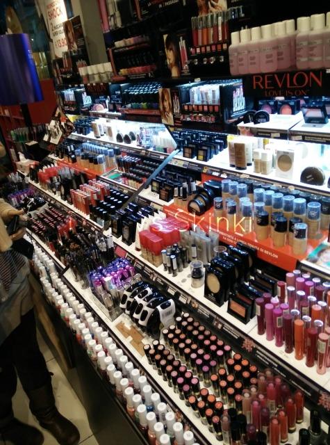 revlon temporary store