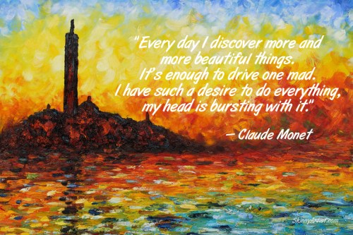 Discover More Beautiful Things Monet