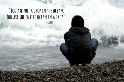 You are not a drop in the ocean