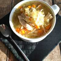 Chicken Noodle-less Soup, a Modern Paleo Twist on a Classic