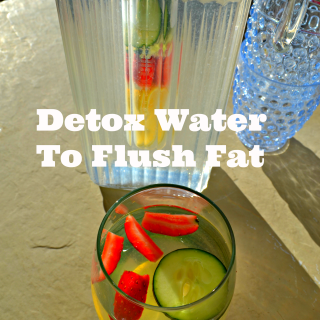 Detox Water Drink To Flush Fat