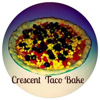 Dinner tonight: Crescent taco bake