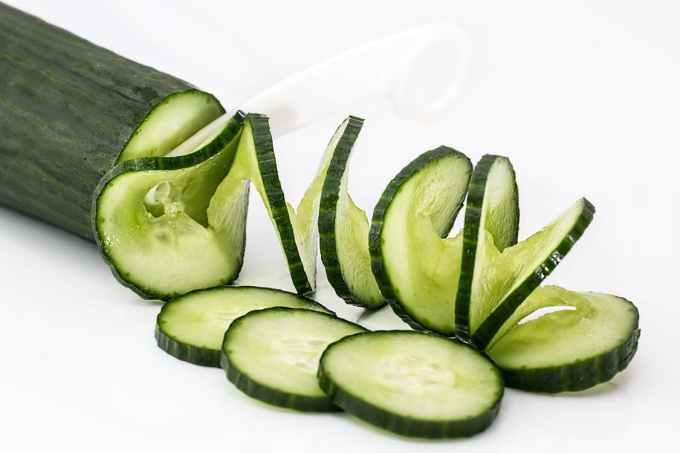 Cucumber under 50 calories