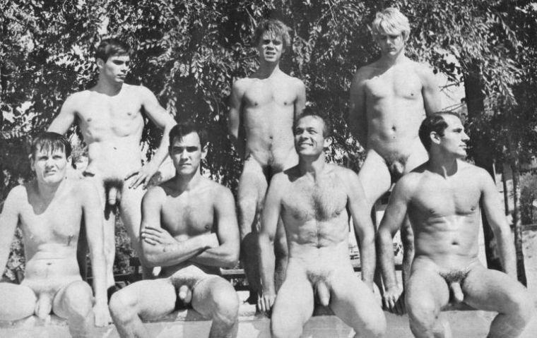 coed nude swim meets