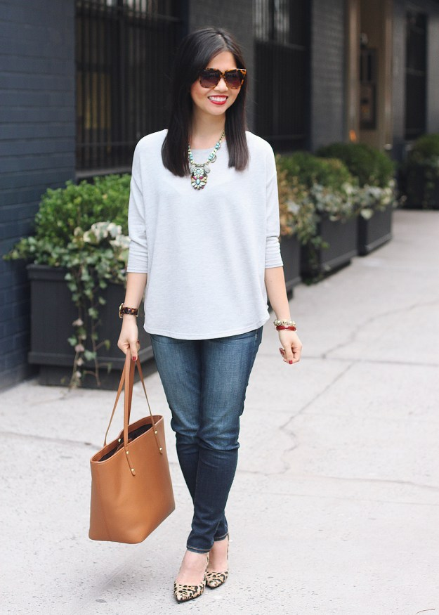 Casual Outfit + Statement Pieces