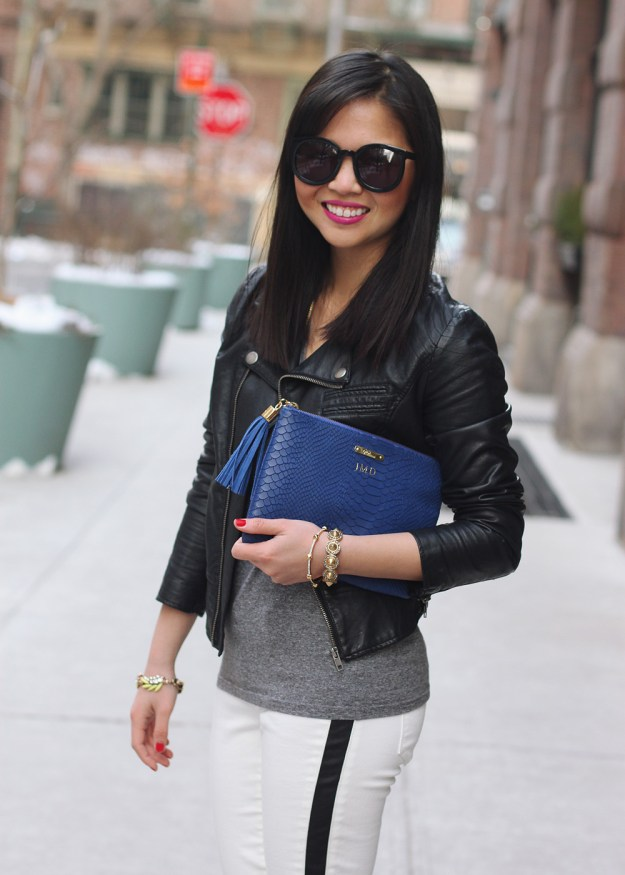 Gigi New York Cobalt All in One Clutch