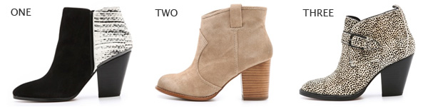 Spring Booties & Shoes
