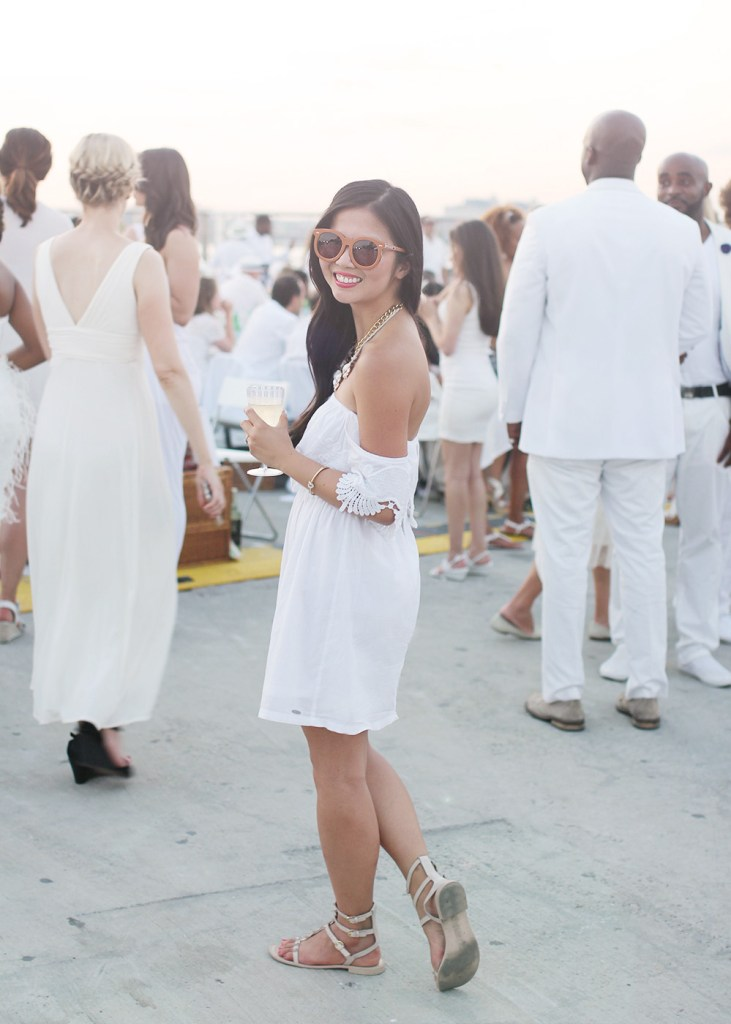Skirt The Rules // Diner en Blanc