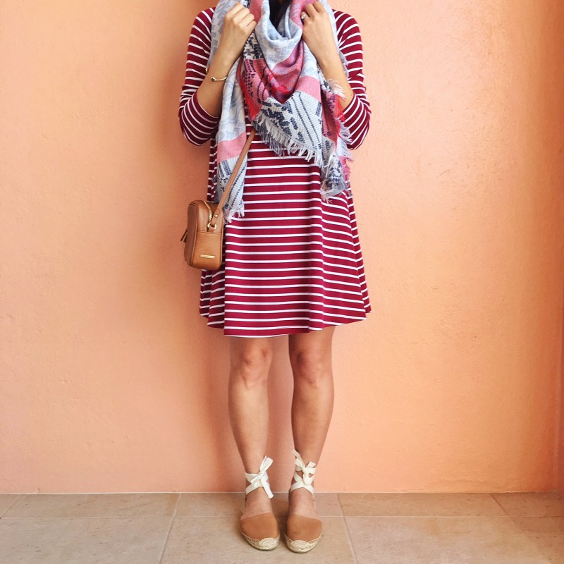 Skirt The Rules / Striped Long Sleeve Dress