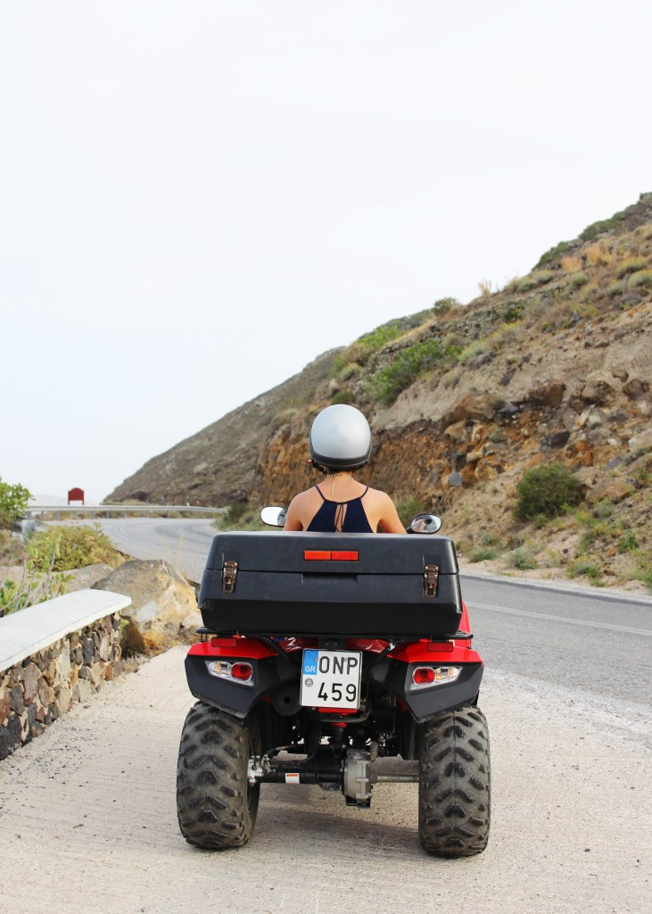 How to Rent an ATV in Santorini, Greece