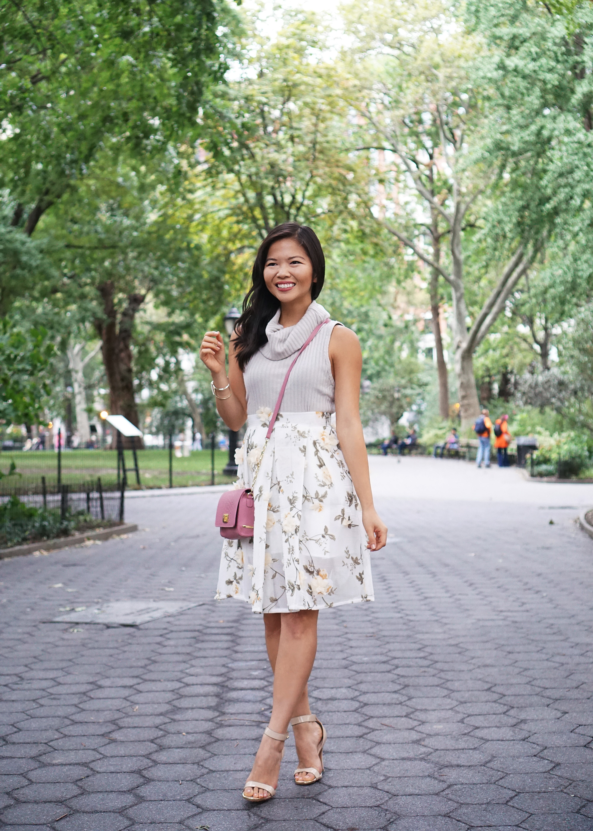 Skirt The Rules / 3D Flower Skirt
