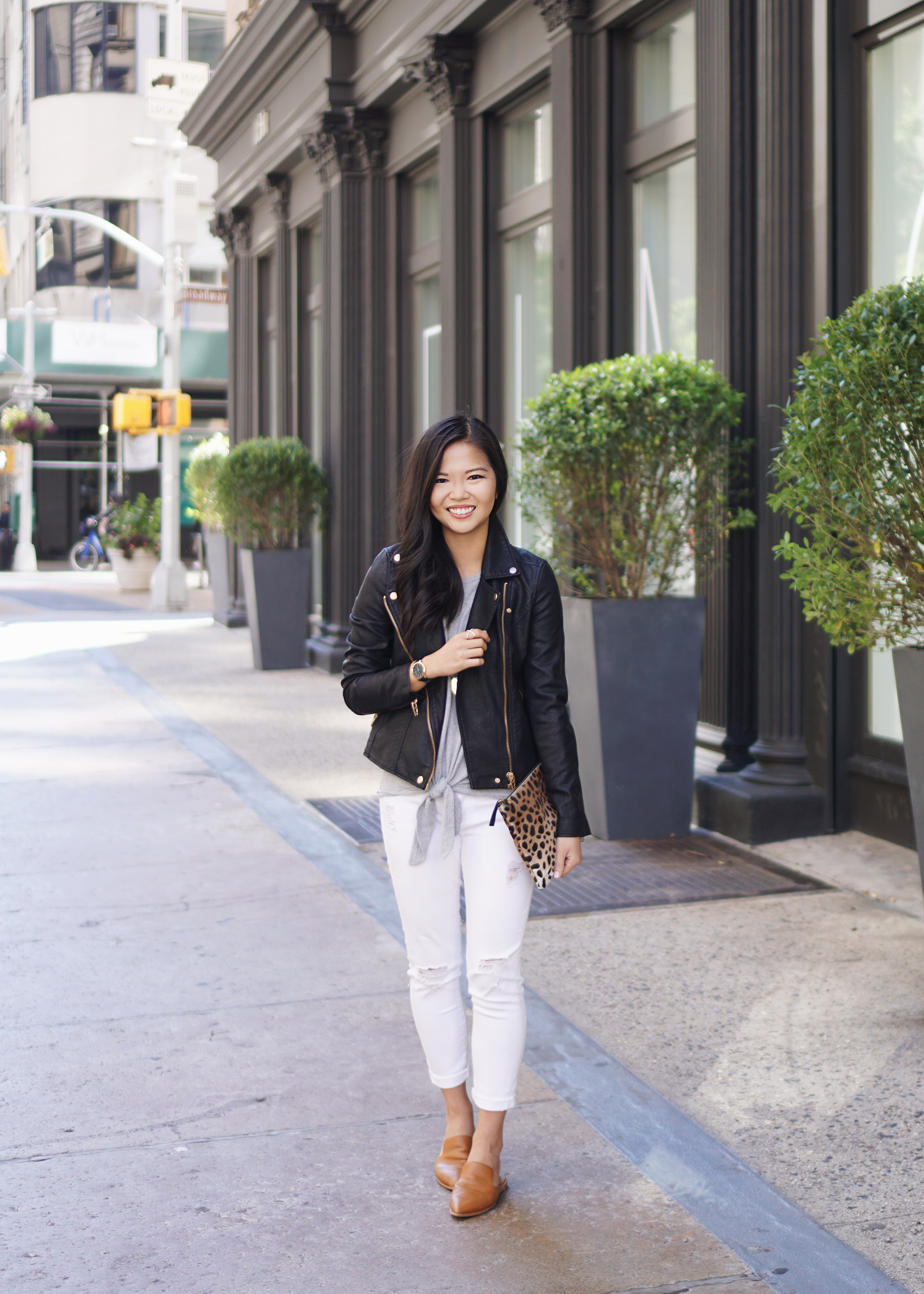 Black, Grey & White Fall Outfit