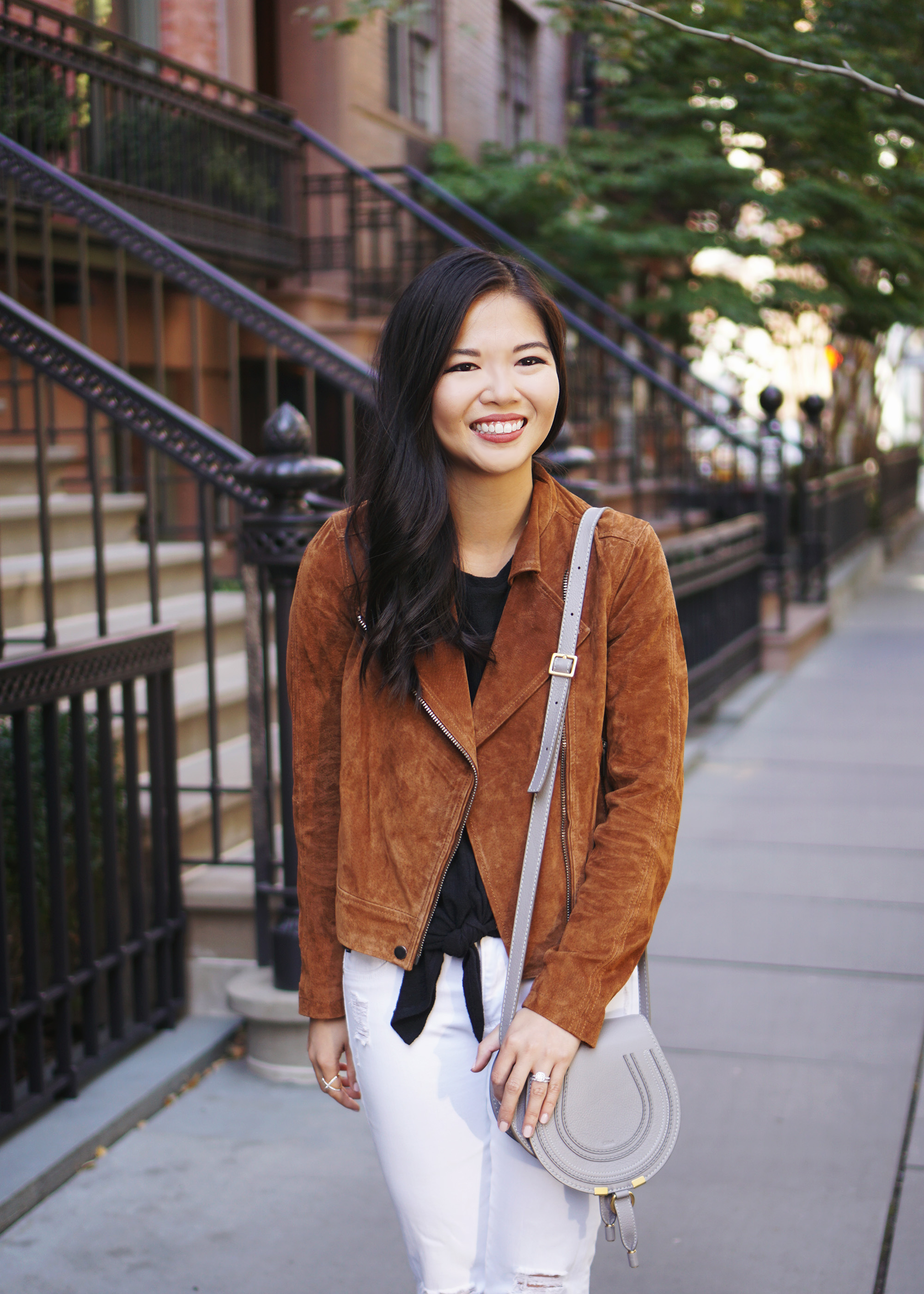 How to Wear Suede for Fall