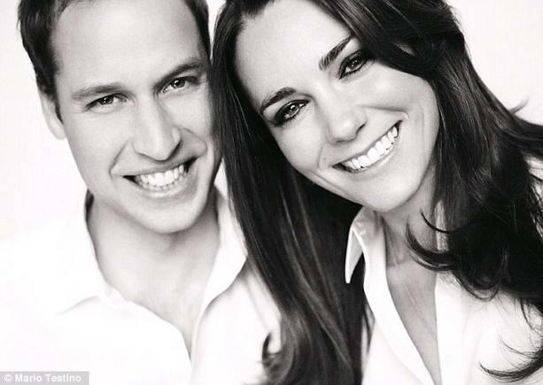 Кейт Миддлтон и принц Уильяма