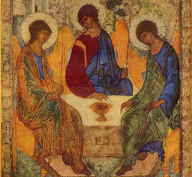 Троица (икона Андрея Рублева)