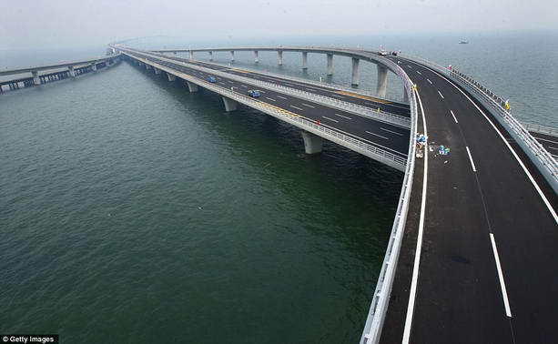 Самый длинный мост Китай