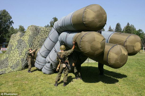 надувная военная техника