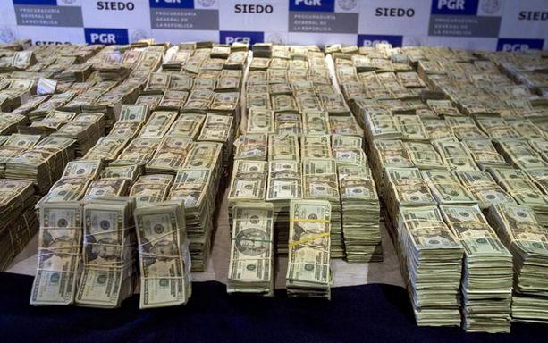 Отобранные деньги у банды