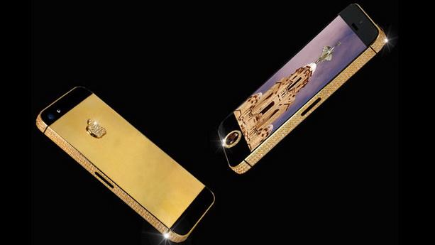 Самый дорогой смартфон бриллиантовый iPhone 5
