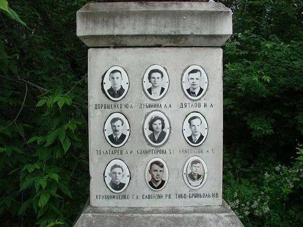 Перевал Дятлова жертвы