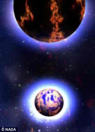 Нейтронные звезды перед столкновением