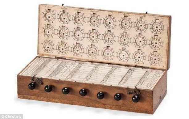 Карманный калькулятор 17 века