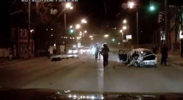 Авария на Сенной в Нижнем Новгороде