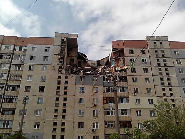 Взрыв в Николаеве