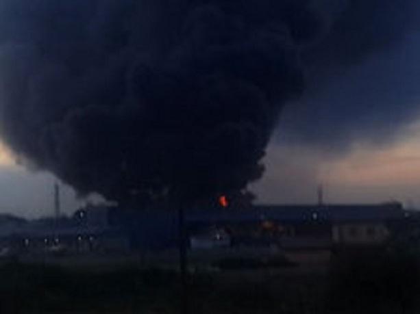 Пожар в Мытищах 24 08 2014