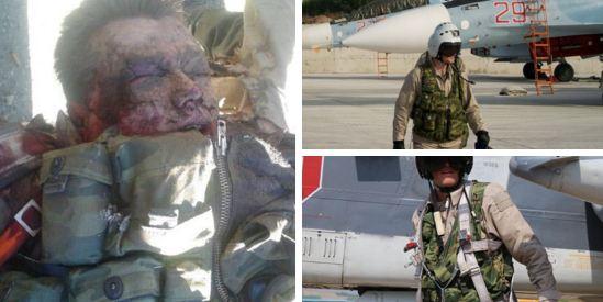 Погибший в Турции пилот СУ-24