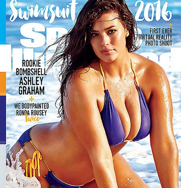 Sports Illustrated модель Эшли Грэхэм