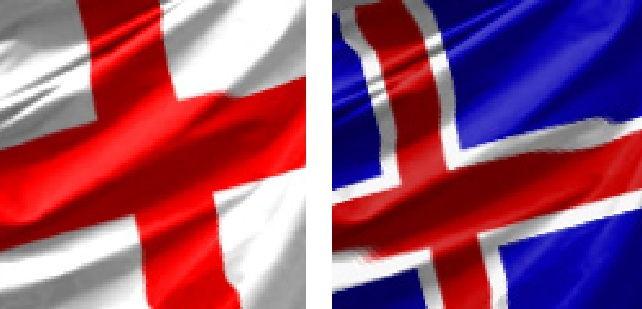 Англия — Исландия