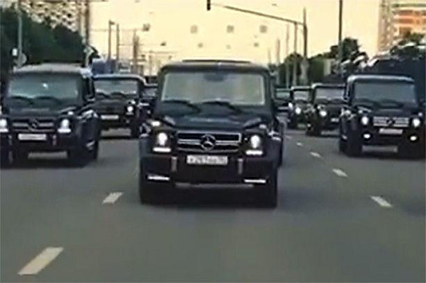 автомобили Mercedes-Benz Gelandewagen