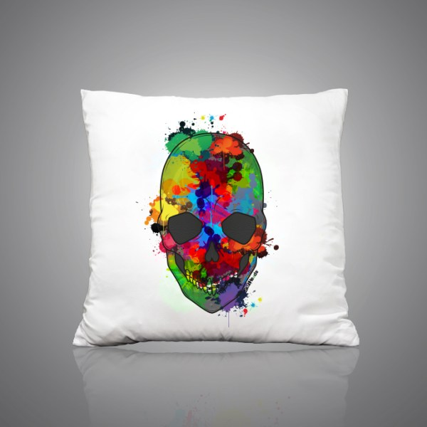 Images Produits - Coussin_ColorfulSkull