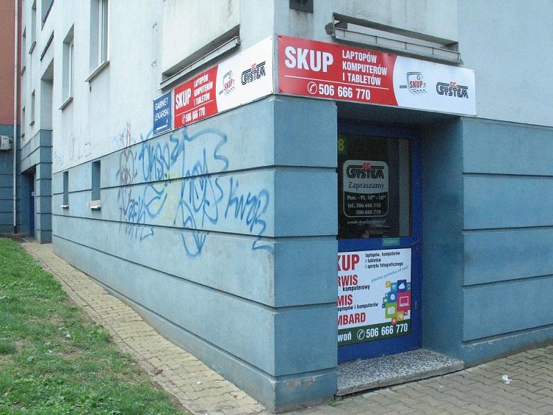 Skup laptopów Lublin - Lokal