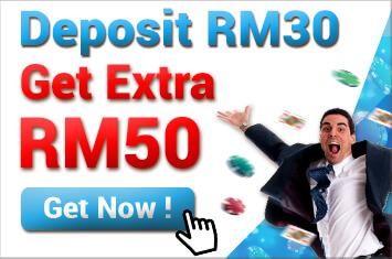 Free RM50 in iBET Online Casino Malaysia