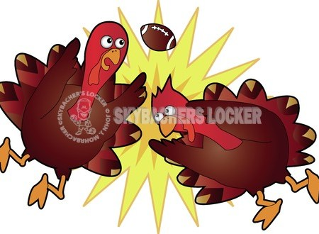 Turkey Bowl Clash - Skybacher's Locker