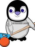 Baby Broomball Penguin - Skybacher's Locker
