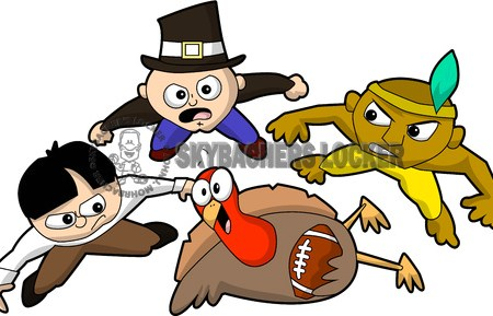 Turkey Football Rumble - Skybacher's Locker