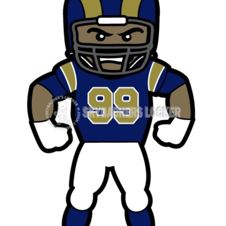 Aaron Donald – Toon - Skybacher's Locker