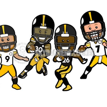 Steelers Offensive Stars - Skybacher's Locker