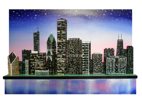 Chicago in Twilight - Skye Taylor