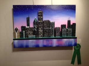 Chicago in Twilight by Skye Taylor