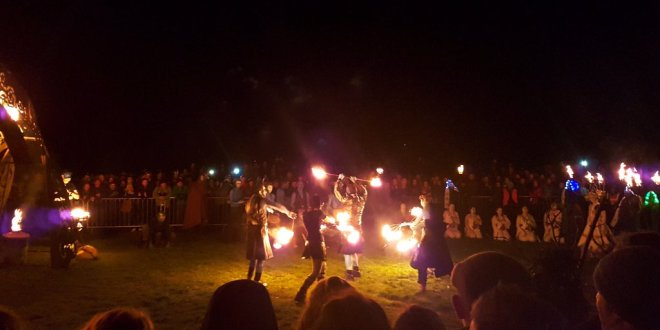 What the 2016 Beltane Fire Festival Was Like