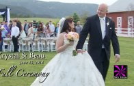 Krystal and Beau Wedding Full Ceremony