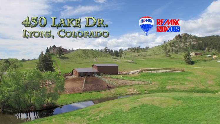 450 Lake Dr Lyons Colorado – RE/MAX Nexus