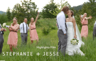 Stephanie + Jesse Wedding Highlights Film