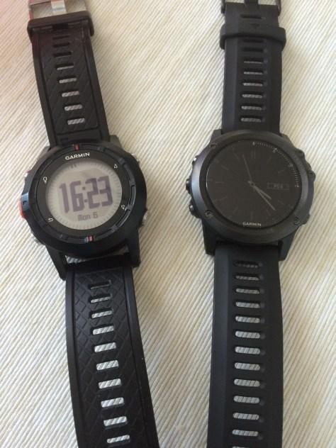 Garmin Fénix1 a Fénix3 - srovnání