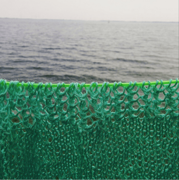 knitting by the lake a new summer tshirt